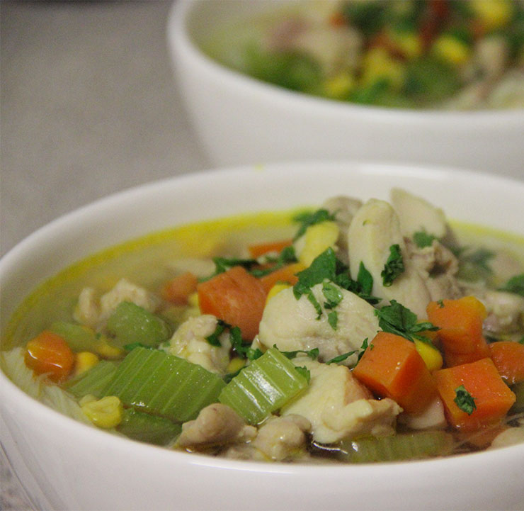 Chicken Noodle & Vegetable Soup