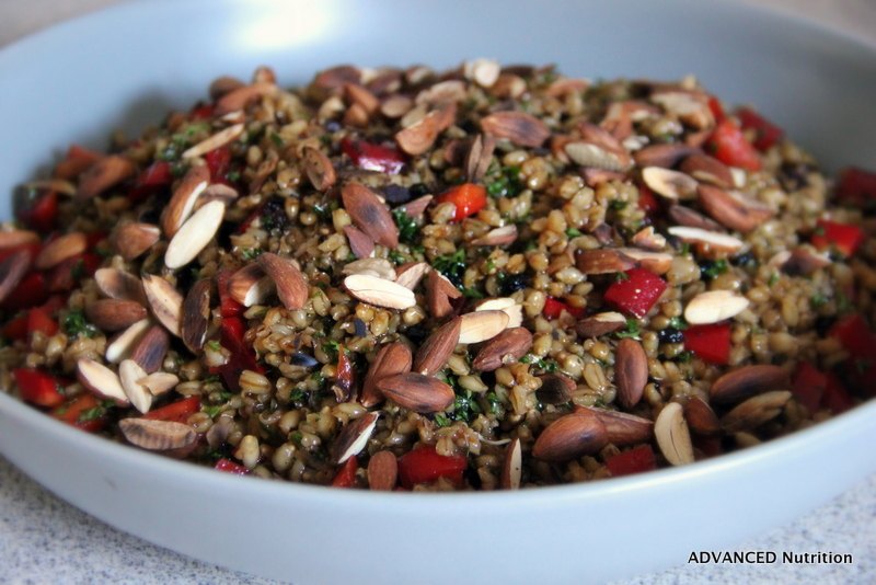 Asian Pearl Barley Salad